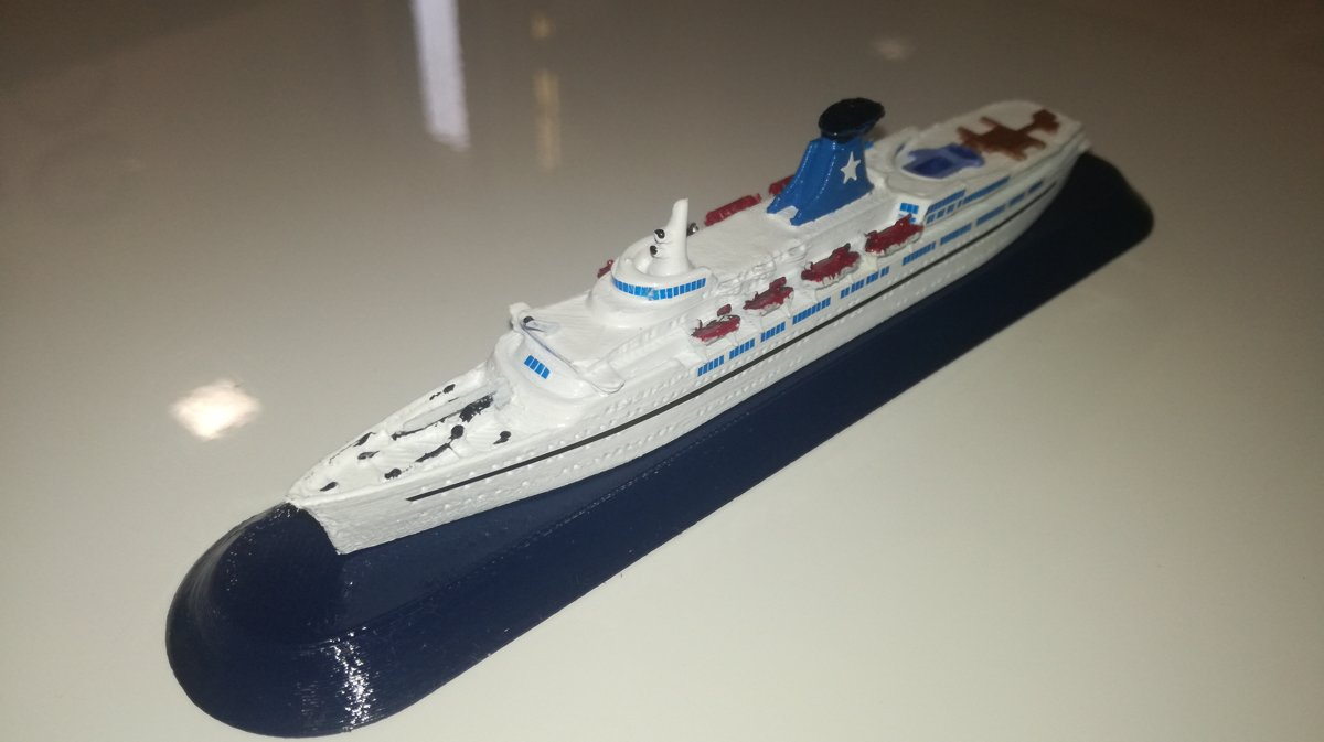 FLOTTA LAURO  modello nave Daphne model ship scala 1 1250