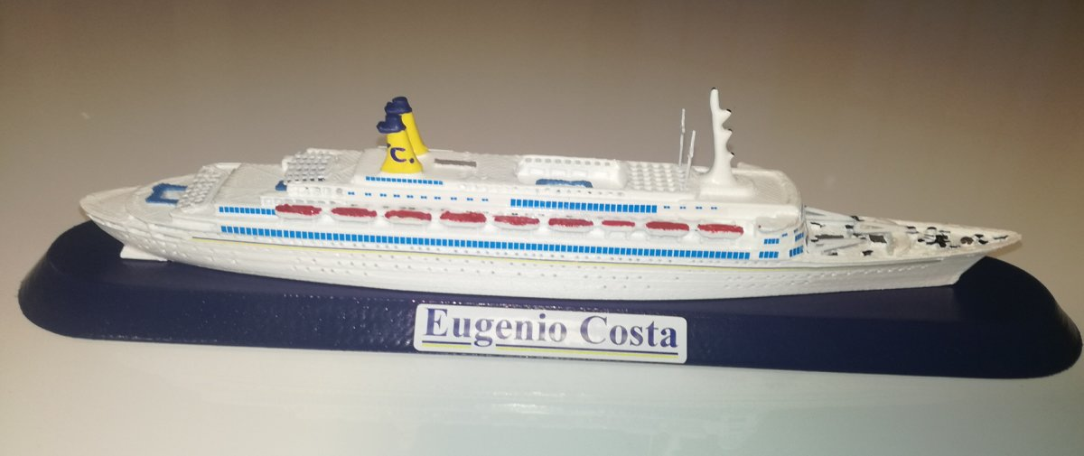 Eugenio Costa ,  model ship scale 1 1250