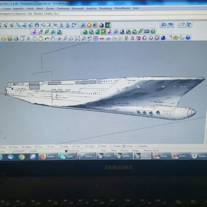 Work in progress / MSC SEASIDE and MSC SEAVIEW scale 1:400