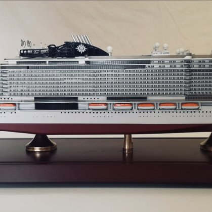 MSC SEASIDE and MSC SEAVIEW scale 1:400