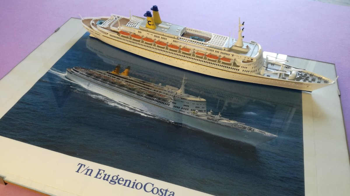 EUGENIO COSTA Scale  1 :500 , length 436 mm