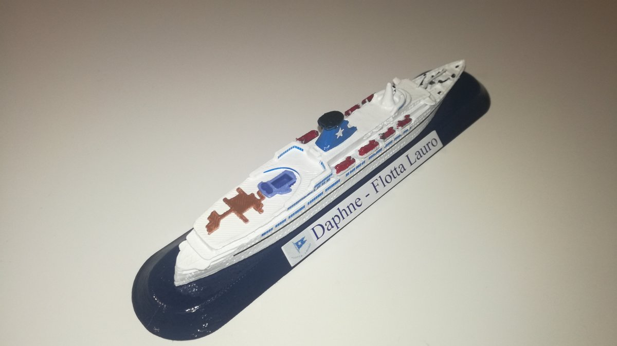 FLOTTA LAURO  modello nave Daphne model ship scala 1 1250