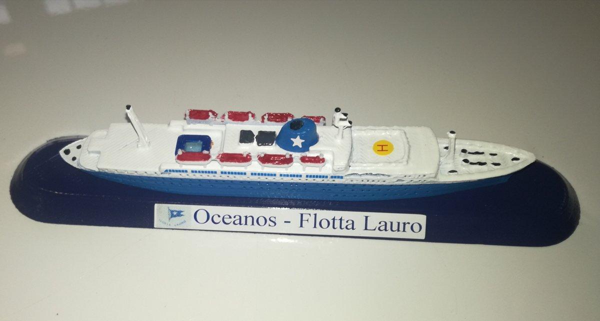 FLOTTA LAURO modello m/v Oceanos scala 1 1250 Epirotiki Line Grecia