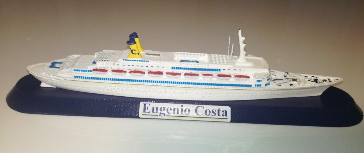 Eugenio Costa ,  model ship scale 1 1250