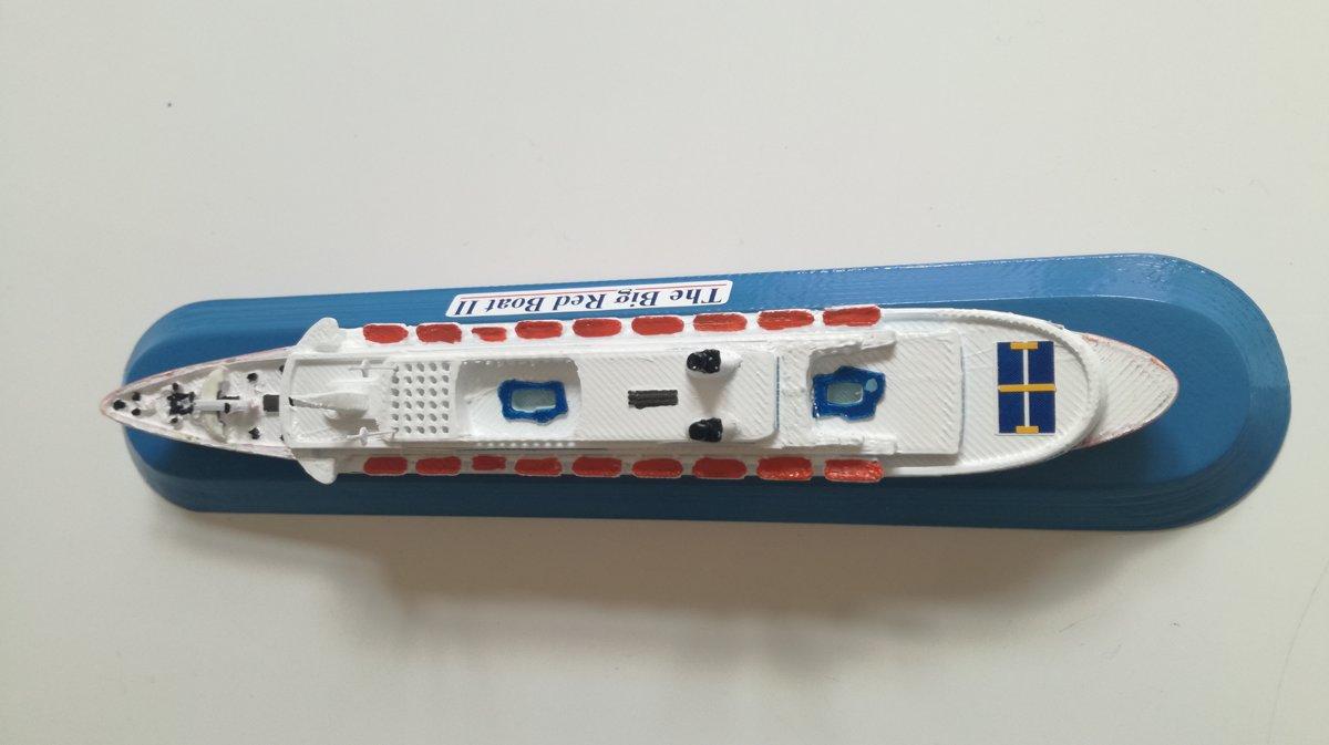 PREMIER CRUISE - DISNEY CRUISE LINE the Big Red Boat II ex. Eugenio Costa scale 1:1250