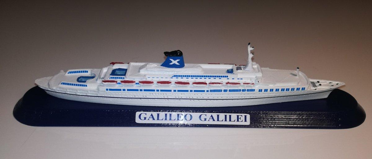 GUGLIELMO MARCONI , GALILEO GALILEI , SUN VISTA modello Scala 1 : 1250