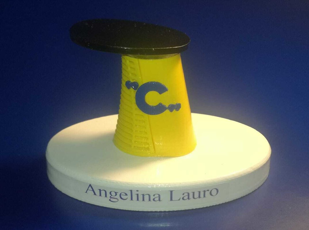 Angelina Lauro ex Oranje modello ciminiera scale 1:300 noleggio Costa 1978 / 1979