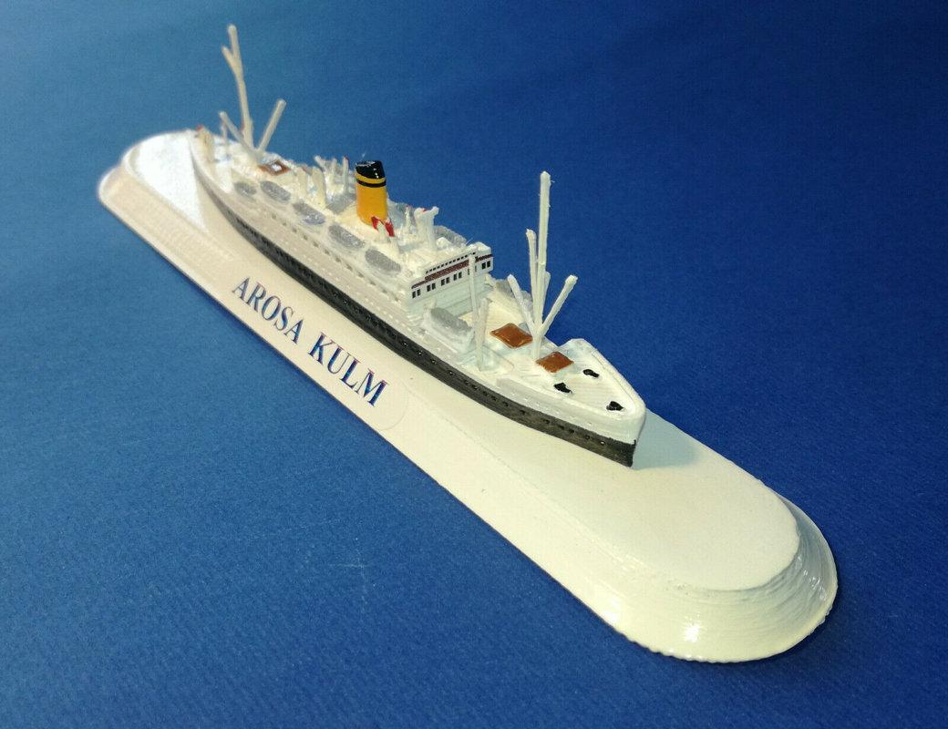 AROSA LINE Emigrant Ship model ship sc1 1250 Ship Arosa Sun , Arosa Star and Arosa Kulm