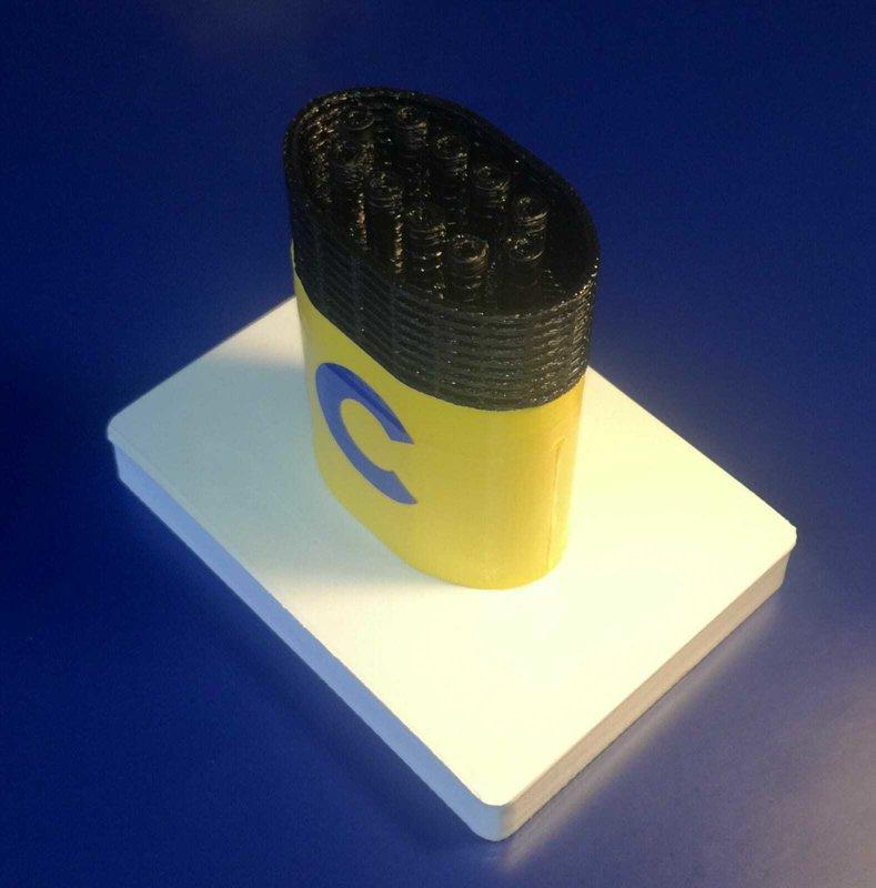 Costa Diadema , model funnel - Modello ciminiera scale 1:300 Costa Crociere