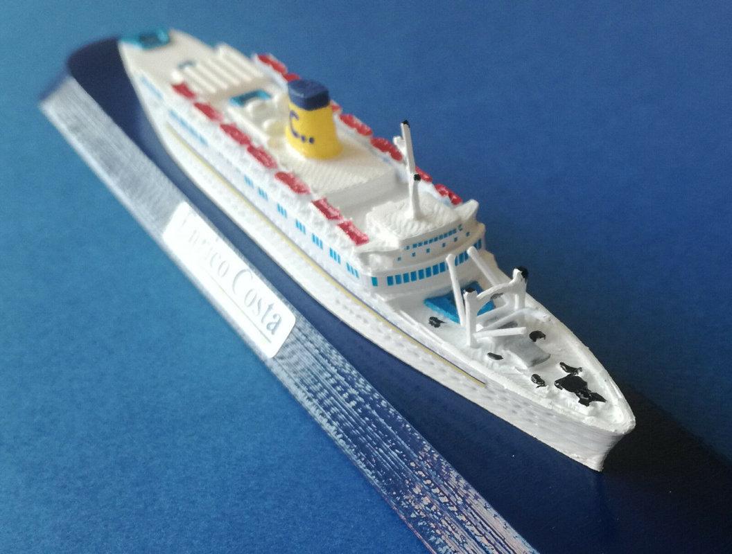 ENRICO COSTA ex. Provance Costa Crociere modello nave in scala 1 1250