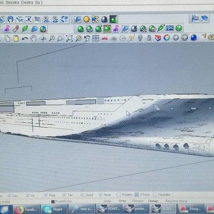 Work in progress / MSC SEASIDE and MSC SEAVIEW 1:400