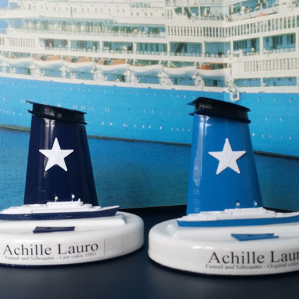 Ciminiere - Funnel scale 1:300 Flotta Lauro - Costa - Epirotiky - Viking line